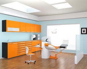 歯科クリニックのインテリアイメージの写真素材 [FYI04648590]
