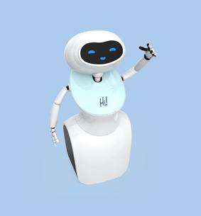 人型ロボットのイメージの写真素材 [FYI04648770]