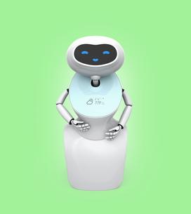 人型ロボットのイメージの写真素材 [FYI04648772]