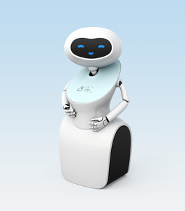 人型ロボットのイメージの写真素材 [FYI04648774]