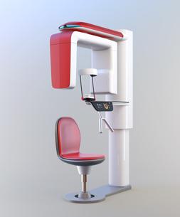 座位型歯科用パノラマ・CT複合撮影装置のイメージの写真素材 [FYI04649027]