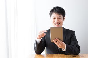 日本人ビジネスマンの写真素材 [FYI04649181]