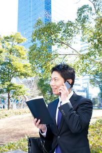 日本人ビジネスマンの写真素材 [FYI04649384]