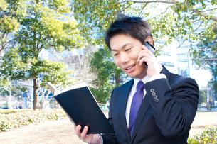 日本人ビジネスマンの写真素材 [FYI04649386]