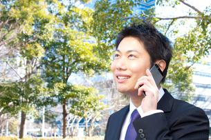 日本人ビジネスマンの写真素材 [FYI04649390]