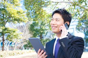 日本人ビジネスマンの写真素材 [FYI04649393]