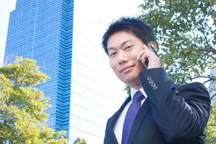日本人ビジネスマンの写真素材 [FYI04649398]