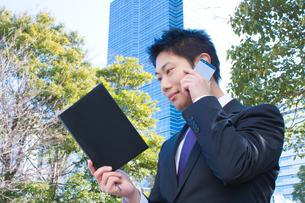 日本人ビジネスマンの写真素材 [FYI04649403]