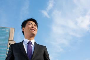 日本人ビジネスマンの写真素材 [FYI04649418]