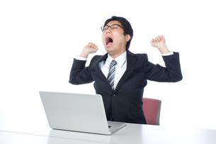 日本人ビジネスマンの写真素材 [FYI04649726]