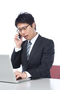日本人ビジネスマンの写真素材 [FYI04649782]