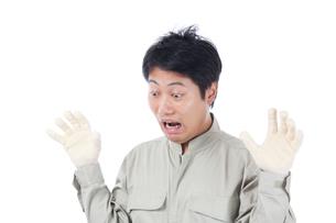 日本人作業員男性の写真素材 [FYI04649860]