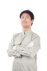 日本人作業員男性の写真素材 [FYI04649872]