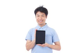 日本人男性の写真素材 [FYI04650002]