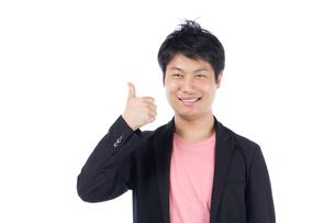 日本人男性の写真素材 [FYI04650077]