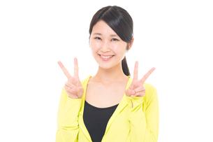 日本人女性の写真素材 [FYI04650205]
