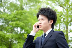 日本人ビジネスマンの写真素材 [FYI04650253]