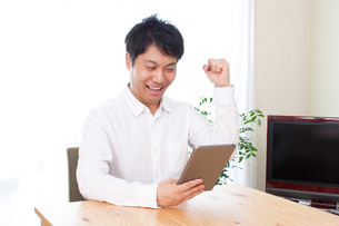日本人男性の写真素材 [FYI04650351]