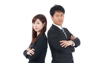 日本人ビジネスマンとビジネスウーマンの写真素材 [FYI04650415]