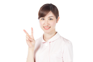 日本人女性看護師の写真素材 [FYI04650592]