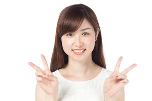 日本人女性の写真素材 [FYI04650596]