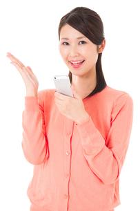 日本人女性の写真素材 [FYI04650860]