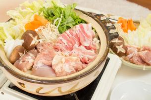 鍋料理の写真素材 [FYI04651211]