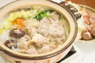 鍋料理の写真素材 [FYI04651220]