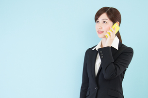 日本人ビジネスウーマンの写真素材 [FYI04651296]