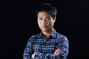 日本人男性の写真素材 [FYI04651608]