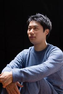 日本人男性の写真素材 [FYI04651731]