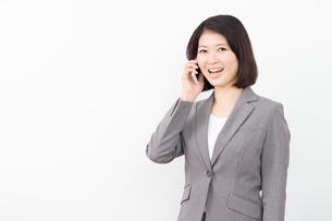 日本人ビジネスウーマンの写真素材 [FYI04651869]