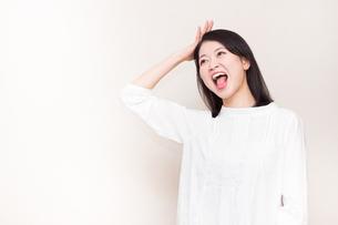 日本人女性の写真素材 [FYI04651950]