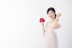 日本人女性の写真素材 [FYI04653239]