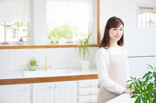日本人女性の写真素材 [FYI04653360]