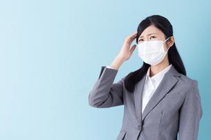 日本人ビジネスウーマンの写真素材 [FYI04653730]