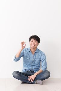 日本人男性の写真素材 [FYI04653946]