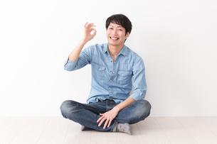 日本人男性の写真素材 [FYI04653948]