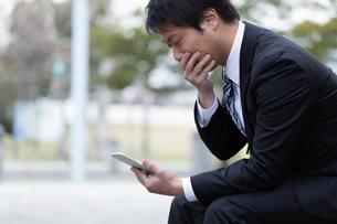 日本人ビジネスマンの写真素材 [FYI04654055]
