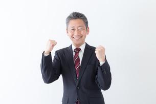 日本人シニアビジネスマンの写真素材 [FYI04654170]