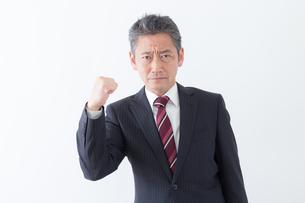 日本人シニアビジネスマンの写真素材 [FYI04654181]