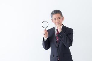 日本人シニアビジネスマンの写真素材 [FYI04654240]