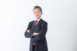 日本人シニアビジネスマンの写真素材 [FYI04654258]