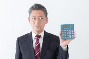 日本人シニアビジネスマンの写真素材 [FYI04654278]