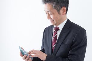 日本人シニアビジネスマンの写真素材 [FYI04654284]
