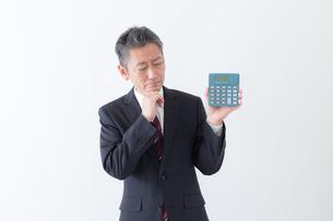 日本人シニアビジネスマンの写真素材 [FYI04654287]