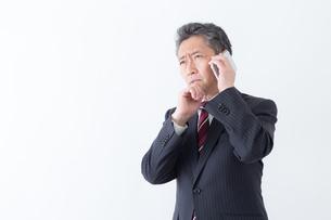 日本人シニアビジネスマンの写真素材 [FYI04654295]