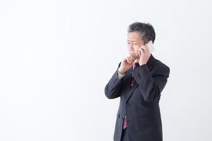 日本人シニアビジネスマンの写真素材 [FYI04654299]