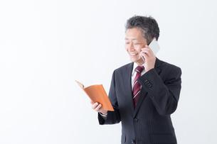 日本人シニアビジネスマンの写真素材 [FYI04654313]