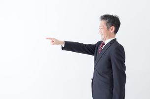 日本人シニアビジネスマンの写真素材 [FYI04654344]